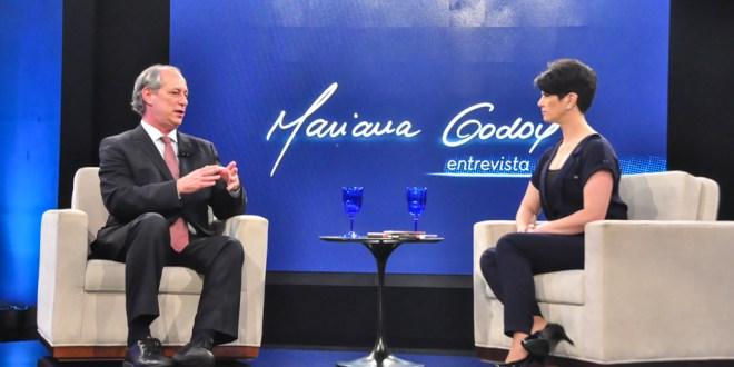 Programa de entrevista de Mariana Godoy na RedeTV.